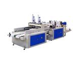 Fully vest bag making machine with auto puncher